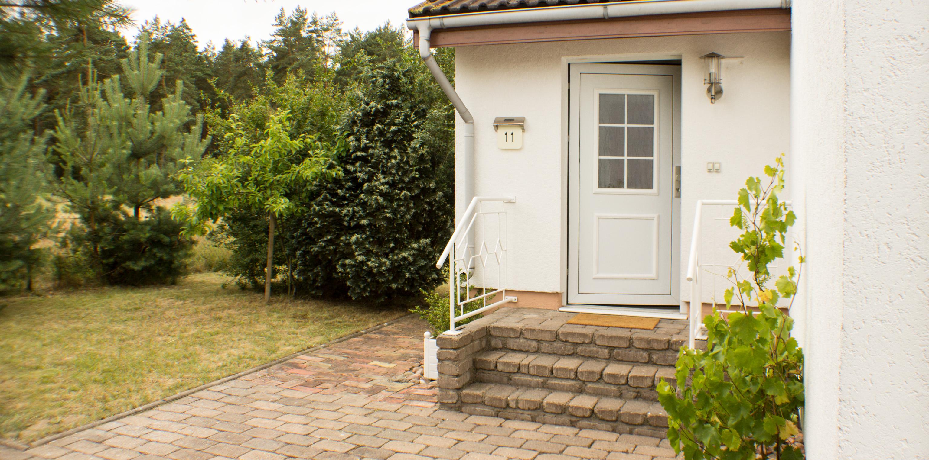Blick zur Haustür