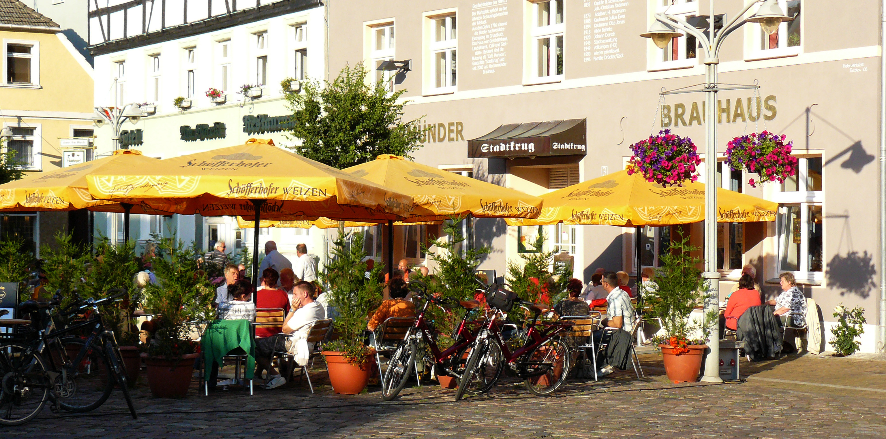 Marktplatz Ueckermünde