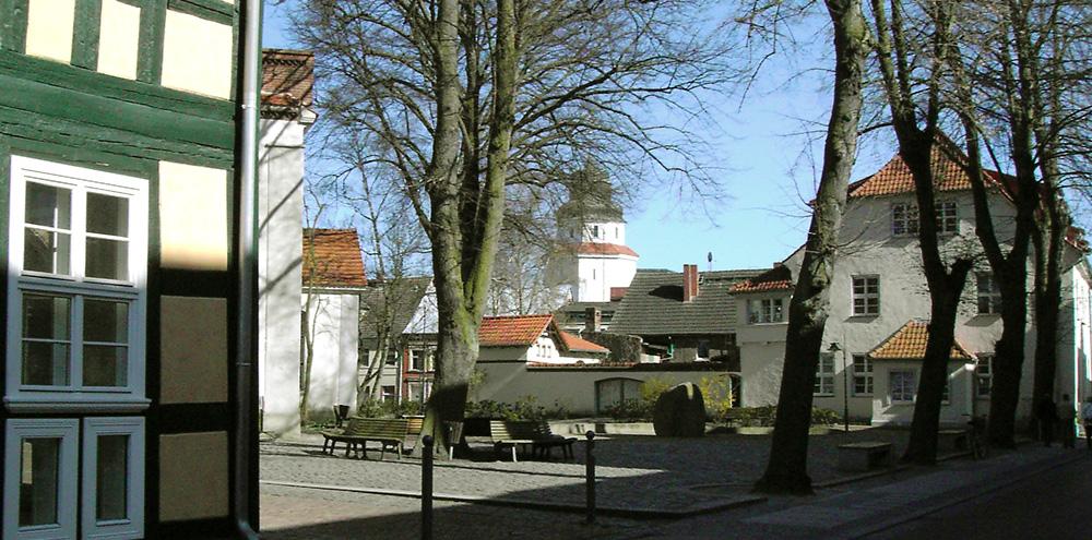 Haffmuseum mit Rathaus