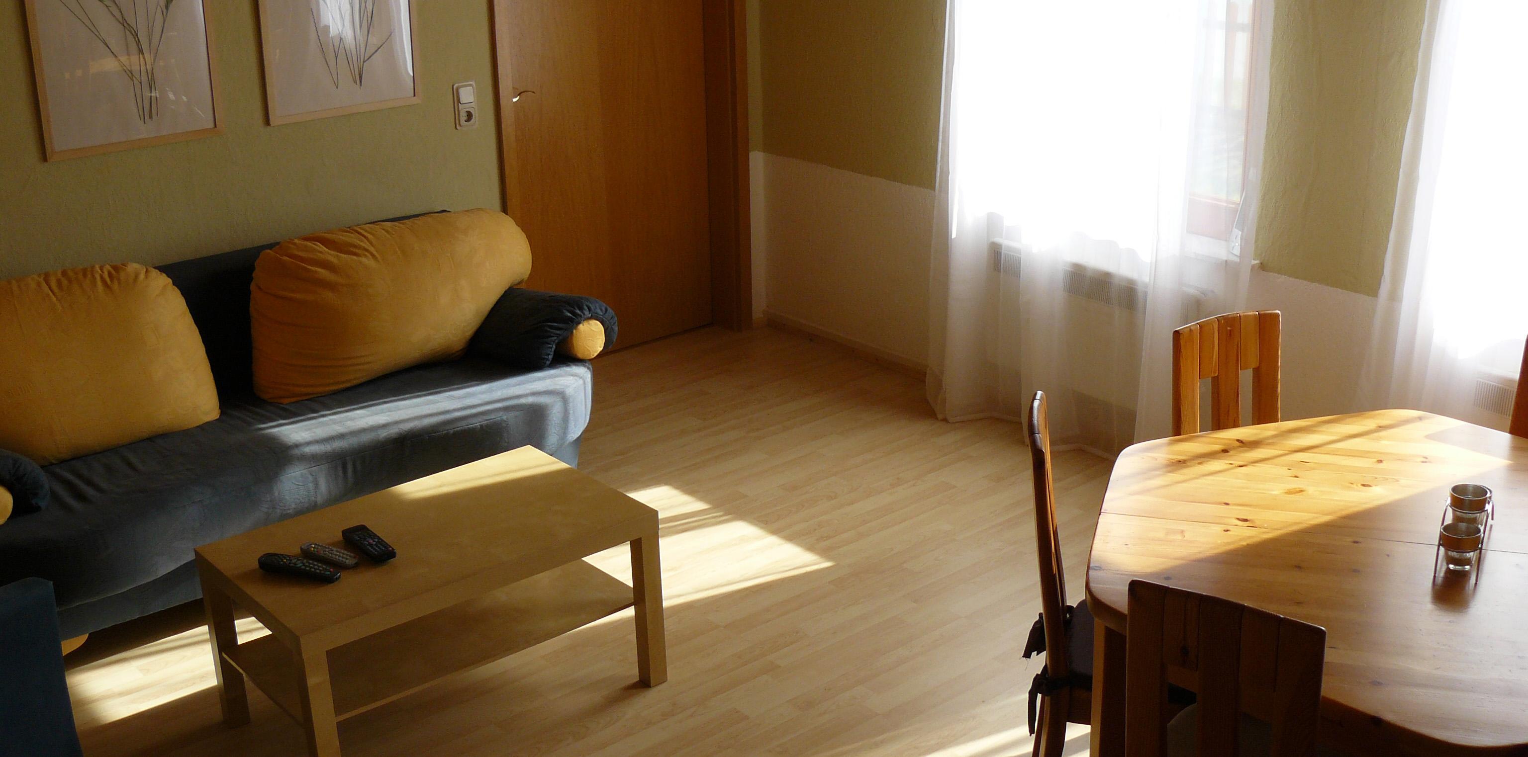 Familienhaus Annenhof in Lübs: Wohnzimmer Erdgeschoss
