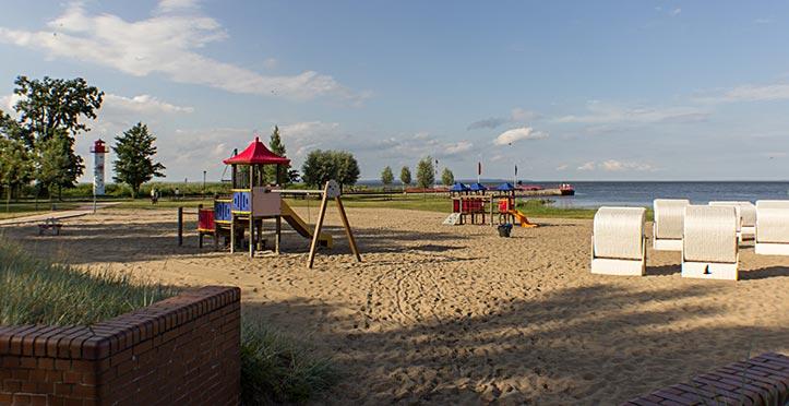 Strand in Ueckermünde