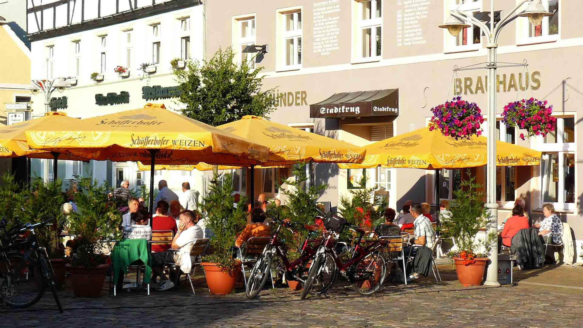 Ueckermünde Marktplatz
